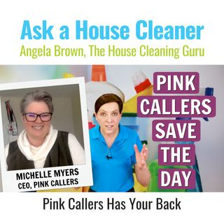 Pink Callers to Your Cleaning Business Rescue
