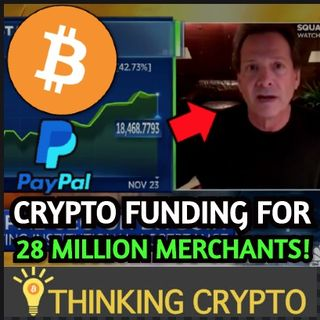 PayPal CEO Says BITCOIN & CRYPTO Will Continue To Grow On TV & Mike Novogratz $50K-$65K BTC Price in 2021
