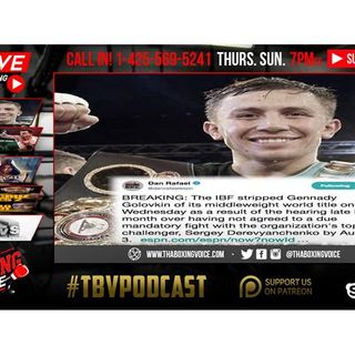 😱GGG Stripped of IBF👀Crawford vs Horn PREVIEW🔥Whyte vs Parker⁉️ & MORE🔊