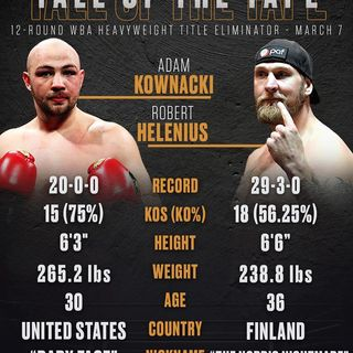 Inside Boxing Daily: Kownacki-Helenius and Quigg-Carroll previews, plus Benitez beats Cervantes to become champion