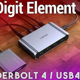 Hands-On Tech: CalDigit Thunderbolt 4 / USB4 Element Hub Review