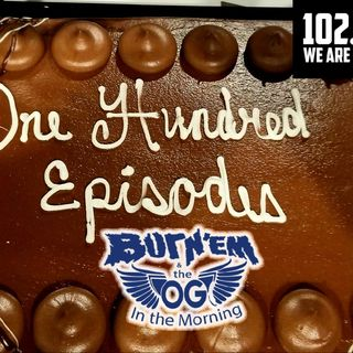 Burn'Em & The OG In The Morning 9-18-2020 On UpTOwn Eadio Via 102.5 FM The Pulse 100th Episode!!