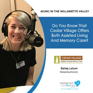 4/10/18: Bailey Lalum with Cedar Village Assisted Living & Memory Care