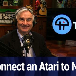 Connect A Vintage Atari to a New TV | TWiT Bits