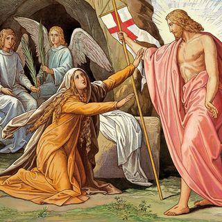 La resurrezione, la Maddalena e San Pietro