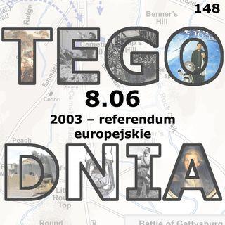 Tego dnia: 8 czerwca (referendum europejskie)