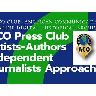 ACO Club - Alien Contact Organizers -Dr. Bruce Cornet, Theresa J Morris