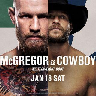 MMA Fight Picks: #UFC246  Conor McGregor vs. Donald Cerrone w/ @BlakeStephenson  of  @Loadedjoesmma