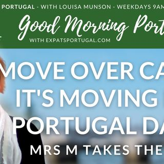 Mrs M takes the Mic! It's Moving IN Portugal Day on the GMP