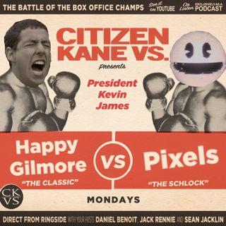 Happy Gilmore vs Pixels