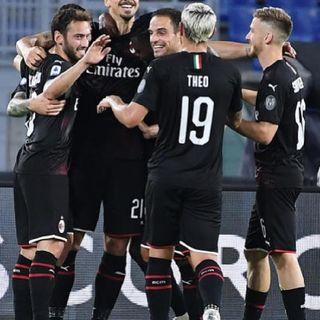 Lazio 0 - Milan 3...una vittoria tonda e convincente! Avanti così!