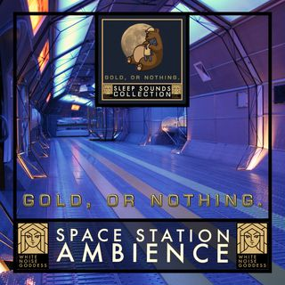 Space Station Ambience | White Noise | Deep Sleep