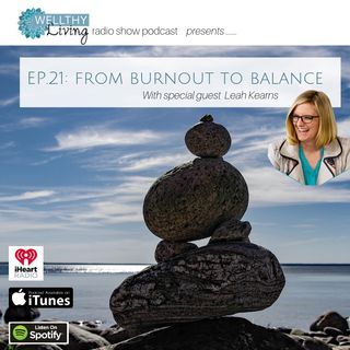 Pathway from burnout to balance