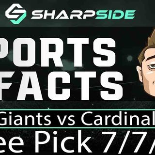FREE MLB Sunday Baseball Betting Pick: Giants vs. Cardinals - July 7th