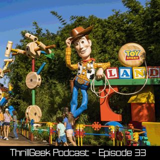 Episode 33 - Toy Story Land review & Killer Clowns from Outer Space!