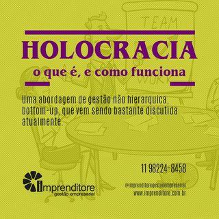 Holocracia. O que é e como funciona.