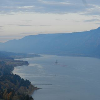 Haze in the Columbia River Gorge