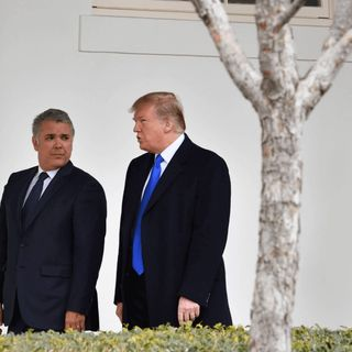 Presidentes Iván Duque y Donald Trump se reúnen 1