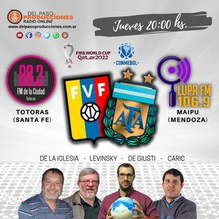Argentina estrenó el título con una victoria en Venezuela