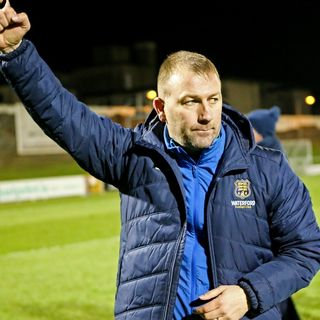 Alan Reynolds admits he doesn't want to leave Waterford FC
