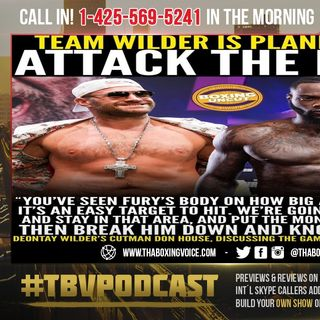 ☎️Anthony Joshua Now Believes Deontay Wilder Knock's Out Tyson Fury😱Plus Weigh-Ins Reaction🔥