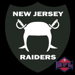 MFL New Jersey Raiders Sign Up Promo 2021 Season