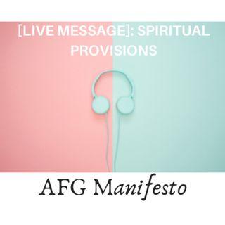 [LIVE MESSAGE]  Solano Nomadic Shelter - Spiritual Provisions