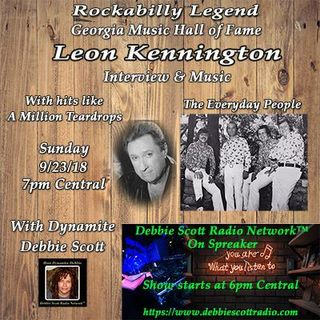 INTERVIEW WITH LEON (KEN) KENNINGTON !!!   9-23-18