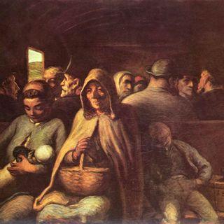 Vagone di terza classe - Honoré Daumier