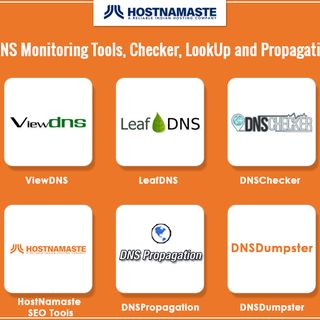 Top 10 DNS Monitoring Tools Checker LookUp and a Propagation Tools for 2020 – All the DNS Tools You Need.