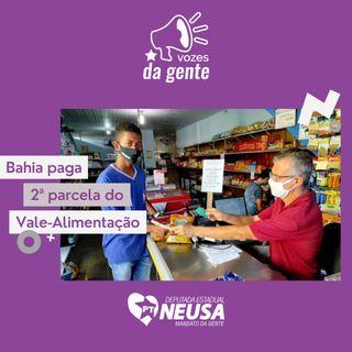 Bahia paga 2ª parcela do Vale-Alimentação para 800 mil estudantes