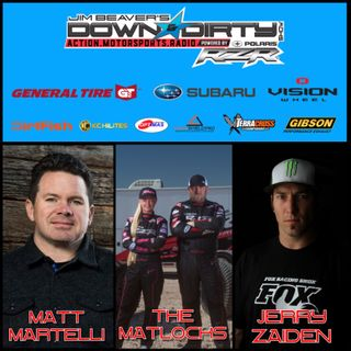 Jerry Zaiden, Wayne & Kristen Matlock, & Matt Martelli On Air!