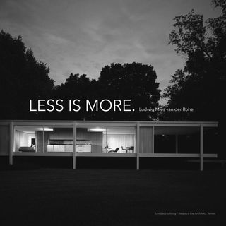Less is more! Ma cosa vuol dire davvero?