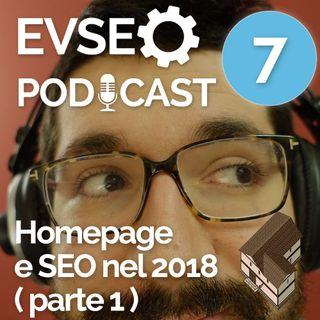 Homepage e SEO nel 2018 ( parte 1 ) - EVSEO Podcast #7