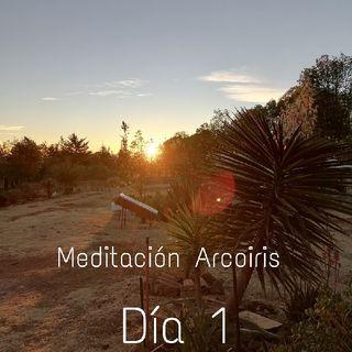Día 1 - Reto De Meditación Arcoiris 2021