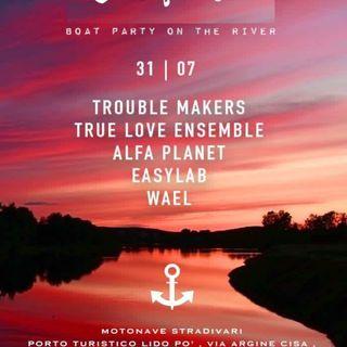 Sunset Cruise boat party Cafeloco & Nosleep 31.07