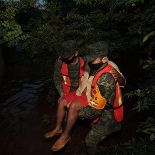 Alerta naranja por Cristóbal en Yucatán