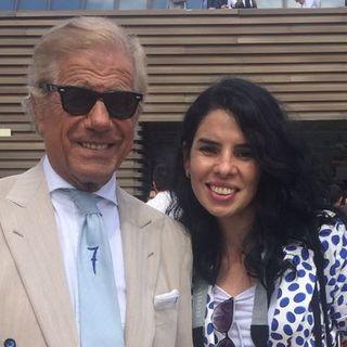 """LINO IELUZZI - simbolo italiano di stile e di eleganza, proprietario della boutique """"Al Bazar"""""""