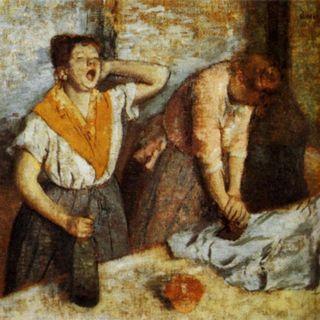 Musée d'Orsay #7 - Edgar Degas, Prasowaczki