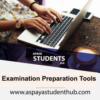 Examination Preparation Tools: Things To Do