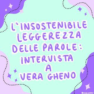 Intervista a Vera Gheno