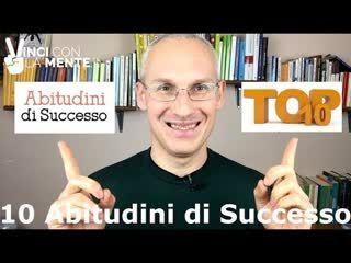 10 abitudini di successo - Perle di Coaching
