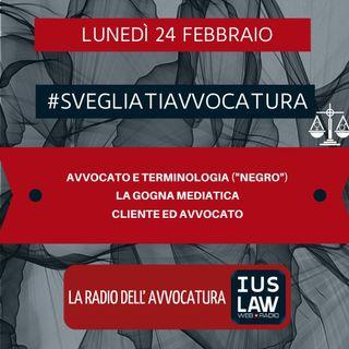 """AVVOCATO E TERMINOLOGIA (""""NEGRO"""") – LA GOGNA MEDIATICA – CLIENTE ED AVVOCATO – #SVEGLIATIAVVOCATURA"""