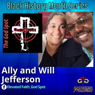 Ally and Will Jefferson Black History Month