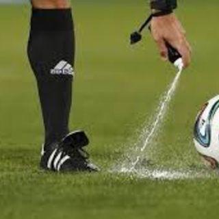 La Fifa Avisora problemas legales legales por demanda sobre spray blanco de los arbitros