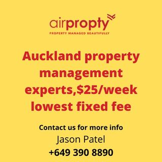 Lowest Fixed Fee Property Management Services in Auckland