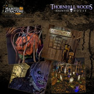 Thornhill Woods Haunted House in Ontario, Canada - Scaring For The Children!