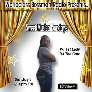 WBRP.......SWEET MUSICAL SUNDAY'S 12-13-20
