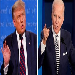 Ultimo debate presidencial, Trump vs Biden
