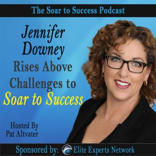 Jennifer Downey Rises Above Challenges to Soar to Success